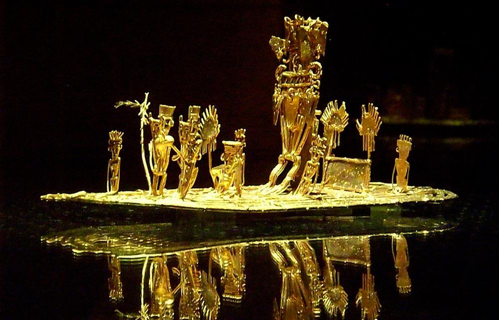 obras del Museo del Oro