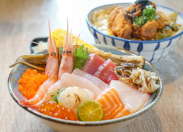 澎湃海鮮丼飯!熟食握壽司也別錯過-津天丼地手作壽司•丼飯