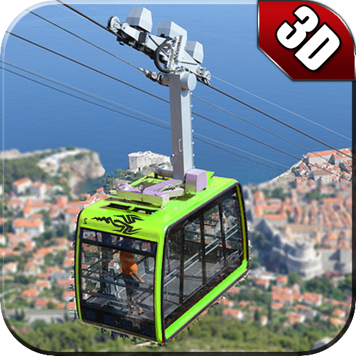 Cable Car adventure : New chair lift driving game