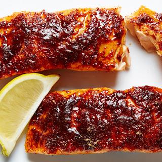 Sweet Citrus Spiced Salmon.