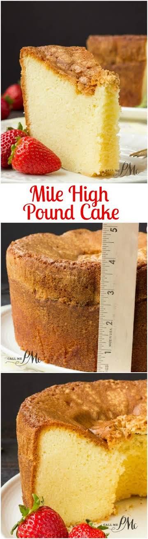Mile High Pound Cake