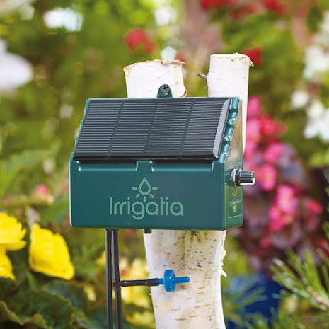 Irrigatia - SOL-C12 eller SOL-C24 + utbyggnadsset med droppmunstycke