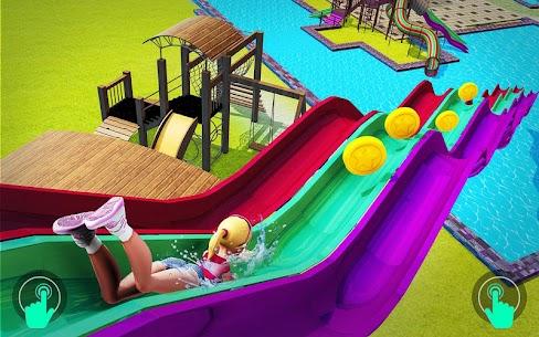 Uphill Water Slide Racing Adventure 3