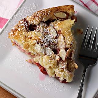 Cherry Delicious Almond Cake