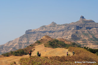 Photo: On the ridge ....Budhala Machi in front