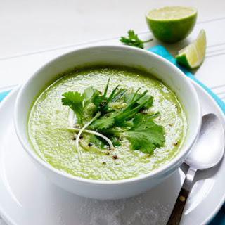 Chilled-out Cucumber & Avocado Soup