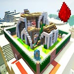 Redstone house maps for Minecraft 1.0.0