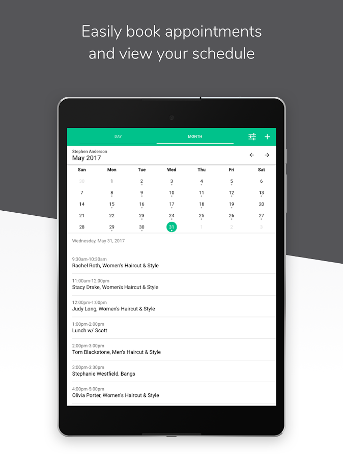 Schedulista Online Scheduling, Appointment Booking- screenshot