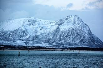 Photo: We enter Risoyhamn