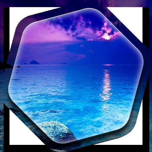 青い海 ライブ壁紙 個人化 App LOGO-硬是要APP