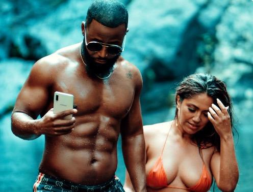 11b2d8235 Cassper Nyovest and Jessica Burciaga serve major heat on 'Move For Me'  music video