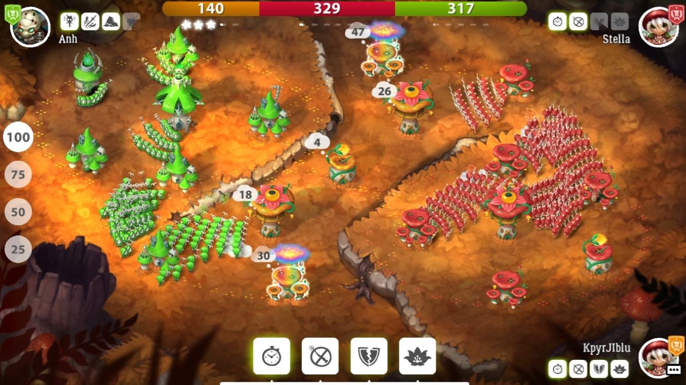Mushroom Wars 2– captură de ecran