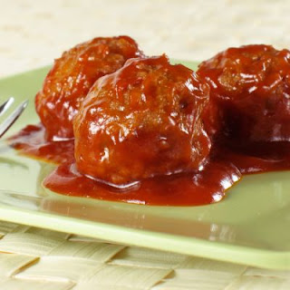 Crockpot Sweet and Spicy Meatballs.