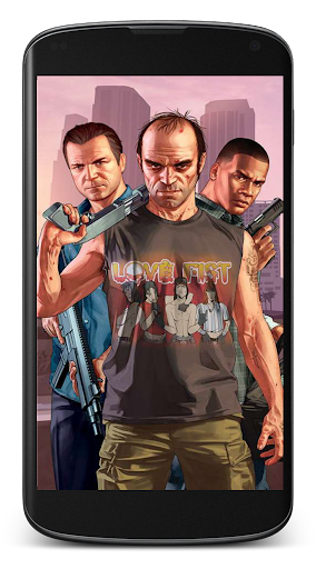 The grand theft V Wallpaper