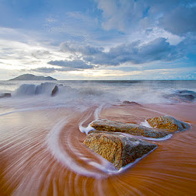 Stone & Motion by Yohanes Irawan - Landscapes Waterscapes ( singkawang, landscape )