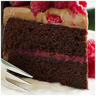 Musselman's® Chocolate Raspberry Cake.