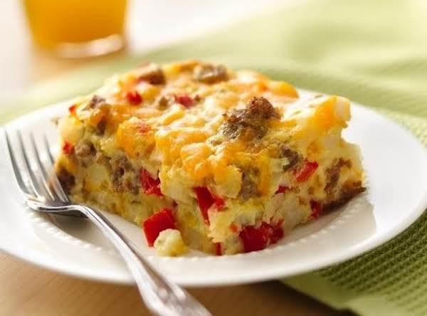 Crowd-pleasing Impossibly Easy Breakfast Bake Recipe