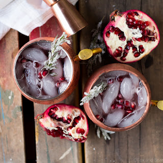 Pomegranate Soda Cocktail Recipes