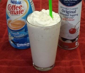 Vanilla Bean Frappuccino Recipe