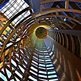 Atrium by Steve Wilking - Buildings & Architecture Other Interior ( , #jipchallenge #paisley #photography, circle, pwc79, shapes geometric patterns , looking, up, images, sky, open, contest, challenge )