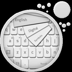 Clean White Keyboard
