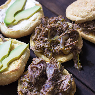 Food Truck Style Cuban Beef Sandwiches