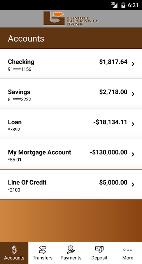 Lumbee Guaranty Bank- screenshot