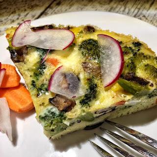Slow Cooker Vegetable Frittata.