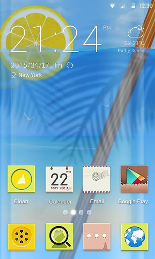 Lemon In Summer Theme - ZERO