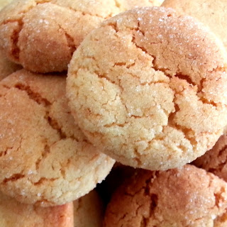 Ovaltine Chewy Sugar Cookies.