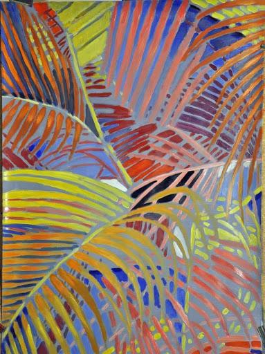 Fueille tropicales vues par Bernanrd Marie Collet
