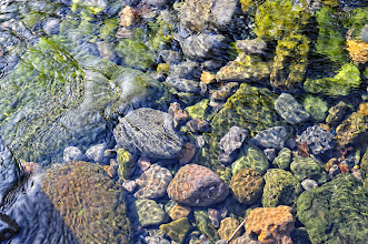 Photo: The water was clear and cool to touch.