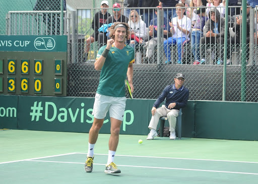 Why SA's No 2 tennis player Lloyd Harris plans to have a quiet word with Kevin Anderson