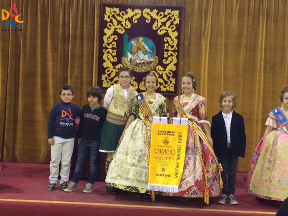 Futbol 7  Campeón Futbol 7 (< 8 años): Falla Duque de Gaeta – Pobla de Farnals