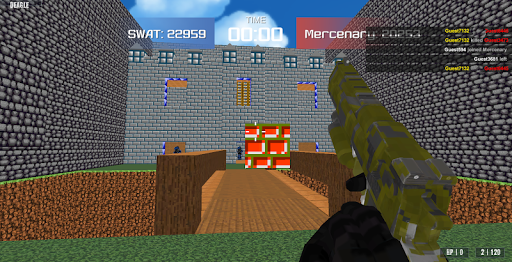 Advanced Blocky Combat SWAT 1.35 screenshots 1