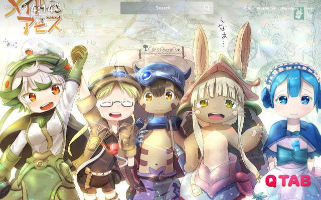 Made in Abyss Wallpapers New Tab