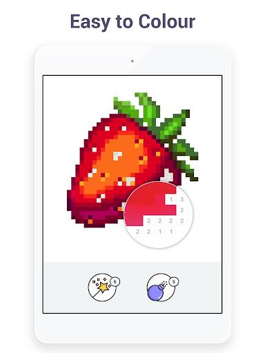 Pixel Art - Colour by Number Book 2.1.2 screenshots 9