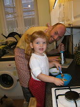 Photo: Cooking with daddy.
