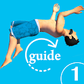 Flip guide diving icon