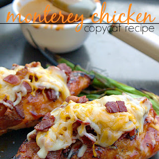 Monterey Chicken {Copycat Recipe} Recipe