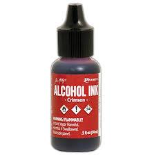 Tim Holtz Alcohol Ink 14ml - Crimson