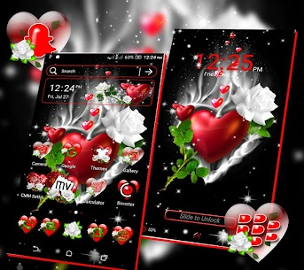 Love Heart Launcher Theme 3