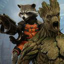 Rocket and Groot Wallpapers New Tab