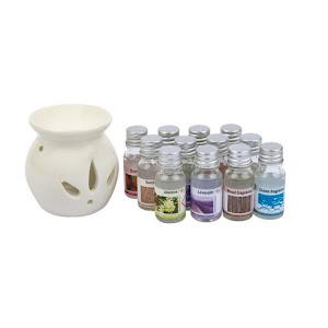 Set 12 sticlute ulei parfumat aromateramie, 10 ml x 12