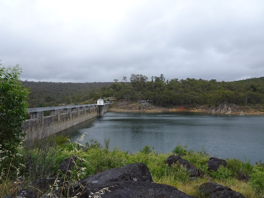 I have to cross the Mundaring weir