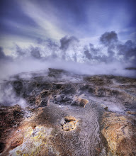 Photo: The Steamy Earth  This first one here is from a crazy part of Iceland. It's very close to a geothermal station. You can just kind of walk around anywhere and see this steam pouring out of the Earth...  - from Trey Ratcliff at http://www.StuckInCustoms.com - all images Creative Commons Noncommercial