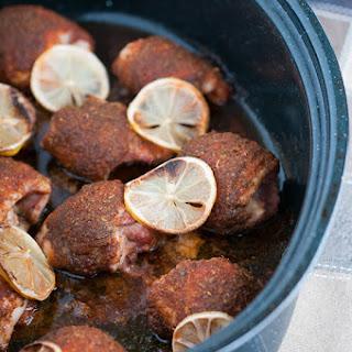 Quick Weeknight Baked Chicken Thighs Recipe