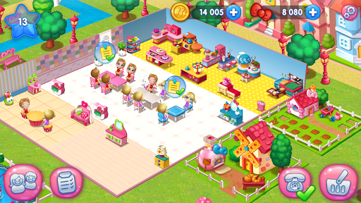 Hello Kitty Food Town Spel (APK) gratis nedladdning för Android/PC/Windows screenshot