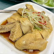 G7. Steamed Chicken with Ginger and Scallion