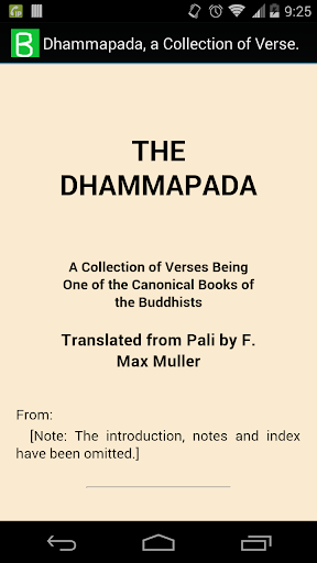 Dhammapada Verses Collection